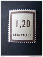 FICTIFS NEUF ** N°F 50 SANS CHARNIERE (FICTIF F50) - Phantomausgaben