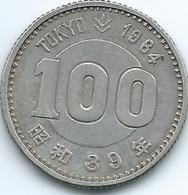 Japan - Hirohito - 100 Yen - 1964 (Showa 39) - Tokyo Olympics - KMY79 - Giappone