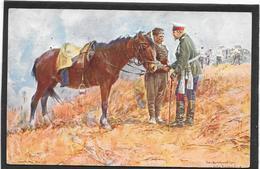 BULGARIE. Le Roi Ferdinand Sur Un Champ De Bataille - Illustration - Bulgaria