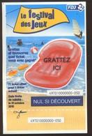 Grattage FDJ - FRANCAISE DES JEUX - Promo 49701 Introuvable En SPECIMEN - Billets De Loterie