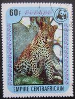 Centrafrique N°330 Léopard WWF Oblitéré - W.W.F.