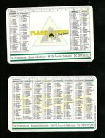 Calendarietto Pubblicitario 1999 - Flash Food ( Salerno ) - Calendari