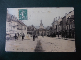 25  PONTARLIER  Faubourg  St - Pierre - Pontarlier