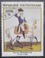 Centrafrique N°508 GEORGE WASHINGTON Oblitéré - George Washington