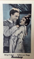 "Willy Fritsch- Kathe Von Nagy. ""Ross"". Bensdorp Carte. - Acteurs"