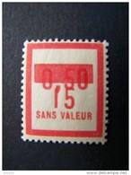 FICTIFS NEUF ** N°F 71 SANS CHARNIERE (FICTIF F71) - Phantomausgaben