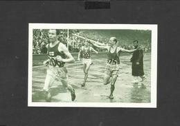 Nostalgia Postcard London Olympics 1948- Belgium Runner Gaston Reiff Winning The 5000m - Olympic Games