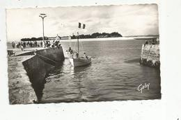 Cp, Bateaux , Pêche ,l'entrée Du Port , Au Fond ,PEN-BRON , 44 ,LE CROISIC , Voyagée 1963 - Pêche