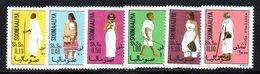 XP4096 - SOMALIA 1975 , Serie Yvert N. 178/183  ***  Costumi - Somalia (1960-...)