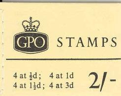 GREAT BRITAIN, Booklet N4, 1961, 2/-, Michel 0-57yI - Markenheftchen