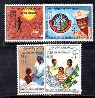XP4097 - SOMALIA 1976 , Serie Yvert N. 190/193  *** - Somalia (1960-...)