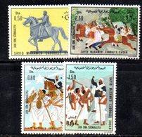 XP4098 - SOMALIA 1976 , Serie Yvert N. 186/189  *** Hassan - Somalia (1960-...)