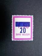 FICTIFS NEUF ** N°F 73 SANS CHARNIERE (FICTIF F73) - Phantomausgaben