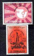 XP4099 - SOMALIA 1976 , Serie Yvert N. 184/185  *** - Somalia (1960-...)