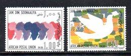 XP4100 - SOMALIA 1975 , Serie Yvert N. 176/177  *** - Somalia (1960-...)