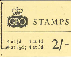 GREAT BRITAIN, Booklet N15p, 1964, 2/-, Michel 0-57ybb, Phosphor - Markenheftchen
