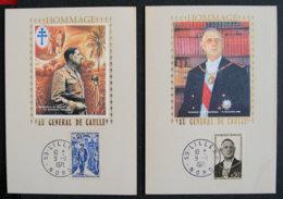 FRANCE - 1971 - HOMMAGE A GENERAL DE GAULLE - LILLE - 1961-....