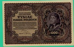 1000 Marek - Pologne - 1919 - N° 707581 / III Seria S - TTB - - Polen
