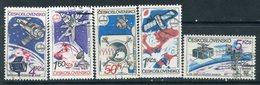 "Y85 CZECHOSLOVAKIA 1980 2558-2562 Space Program ""Intercosmos"" - Space"
