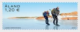 H01 Aland Islands 2019 Nordic Skating  MNH Postfrisch - Ålandinseln