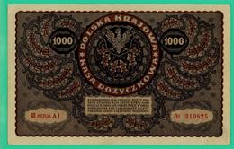 1000 Marek - Pologne - 1919 - N° 310825 / III Seria AI - TTB - - Polen
