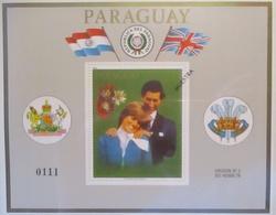 Paraguay Block 362 Diana Und Charles Postfrisch Muestra (57463) - Paraguay