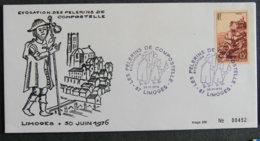 FRANCE - 1976 - LES PELERINS DE COMPOSTELLE - LIMOGES - 1961-....
