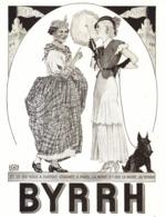 """PUB  """" BYRRH """" Par   Georges LEONNEC  1931  ( 24  ) - Autres Collections"""
