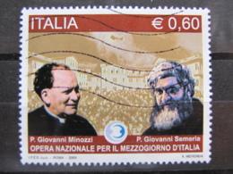 *ITALIA* USATO 2009 - OPERA NAZ MEZZOGIORNO ITALIA - SASSONE 3124 - LUSSO/FIOR DI STAMPA - 6. 1946-.. Repubblica