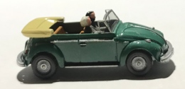 Volkswagen Coccinelle Cabriolet. VW 1300. Wiking. Echelle 1:87 - Voitures, Camions, Bus