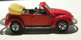 Volkswagen Coccinelle Cabriolet Rouge. Tomica Japan. Echelle 1:60 - Voitures, Camions, Bus