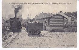 Environs De MEULAN  AULNAY Sur MAULDRE  Gare Du Tramway De Versailles à Meulan - Meulan