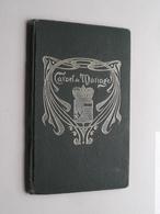 Carnet De MARIAGE ( Liège ) 1923 ( GROSJEAN 1902 Et LATINNE 1898 ) ! - Oude Documenten