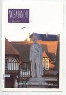 Deauville - Statue Du Duc De Morny Créateur De Deauville En 1861 - Normandie Prestige Dominique Saint Cp Vierge - Deauville