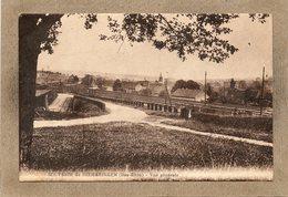 CPA - DIEMERINGEN (67) - Aspect De La Ligne De Chemin De Fer Traversant Tout Le Village Dans Les Années 20 / 30 - Diemeringen
