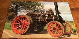 1910 McLaren Steam Traction Engine - Postcards
