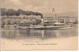L200A677 - Genève - Départ Du Bateau Montreux - Julien Frères - GE Genève