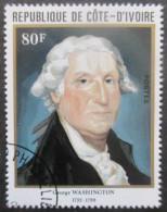 Cote D'Ivoire N°608 GEORGE WASHINGTON Oblitéré - George Washington