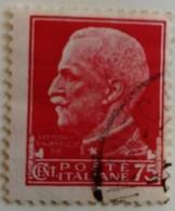 Italie Italy Italia 1929 Victor Emmanuel III Yvert 233 O Used Usato - Usados
