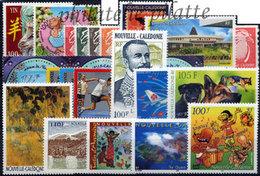 -Nouvelle-Calédonie Année Complète 2003 - Años Completos