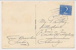 Treinblokstempel : Vlissingen - Dordrecht E 1949 - Periode 1891-1948 (Wilhelmina)