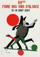 Carton Tomi Ungerer 6ième Foire Aux Vins D'Alsace 2007 - Cartes