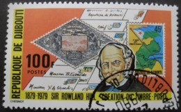 DJIBOUTI N°500 SIR ROWLAND HILL Oblitéré - Rowland Hill