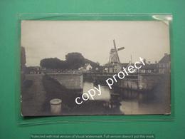 Bellem Aalter Draaibrug Le Pont Wind Mill Original Picture Foto Card - Aalter