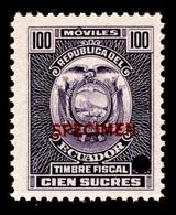 Ecuador $100 Sucres - Ecuador