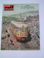 Vie Du Rail 1967 1090 CIRCUMETNA ROCCA CALANNA PATERNO RISPOTO RANDAZZO CATANE MOTTEVILLE BONNIèRES ROLLEBOISE BARENTIN - Treinen