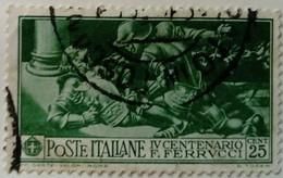 Italie Italy Italia 1930 Francesco Ferrucci Yvert 259 O Used Usato - 1900-44 Victor Emmanuel III.