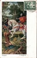 ! Maximumkarte Maxi Card, Carte Maximum, 1933 Nothilfe, Oper Richard Wagner, Breslau 1934 - Allemagne