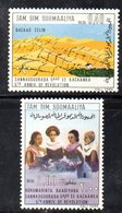 XP4102 - SOMALIA 1974 , Serie Yvert N. 172/173  ***  Rivoluzione - Somalia (1960-...)