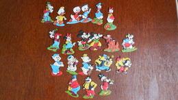 Figurines Mousse Stenval Mickey,daisy;donald,picsou,dingo,pluto,méchant Loup,petit Loup,les 3 Petits Cochons,rapetou,etc - Disney